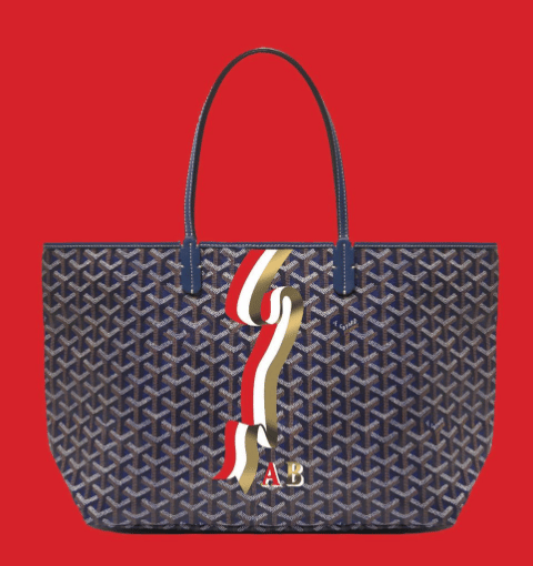 goyard introduces new  u0026quot banni u00e8re u0026quot  design for 2017