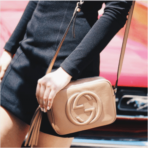 Gucci Beige Soho Disco Bag 2