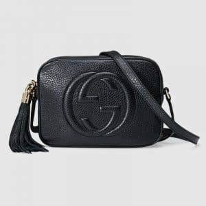 Gucci Black Soho Disco Bag