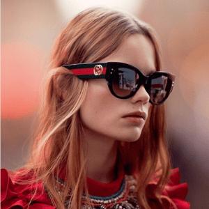 Gucci Cat Eye Sunglasses 2