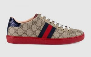 Gucci GG Supreme Ace Low Top Sneaker