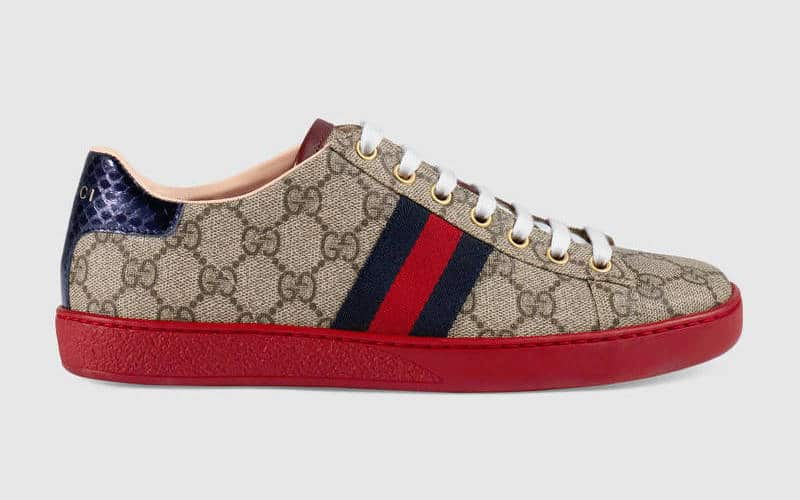 361dba2935a Gucci GG Supreme Ace Low Top Sneaker