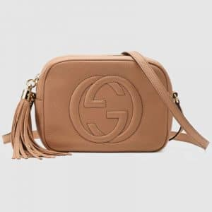 Gucci Rose Beige Soho Disco Bag
