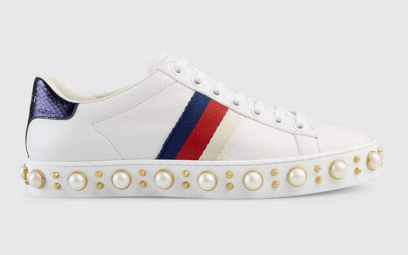 d13b3e420 Gucci Ace Sneakers Reference Guide | Spotted Fashion