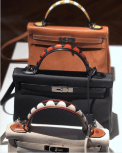 Hermes Customised Kelly Bags - Fall 2017