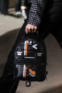 Louis Vuitton Black Printed Backpack Bag - Fall 2017