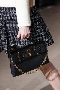 Louis Vuitton Black Studded City Steamer East West Bag - Fall 2017