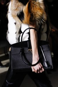 Louis Vuitton Black Top Handle Bag - Fall 2017