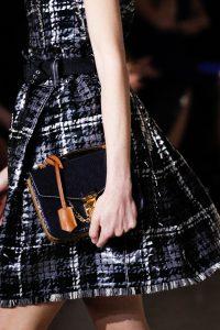 Louis Vuitton Black/Tan Mini Flap Bag - Fall 2017