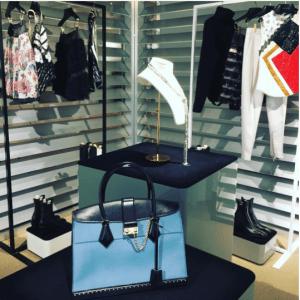 Louis Vuitton Blue Top Handle Bag - Fall 2017