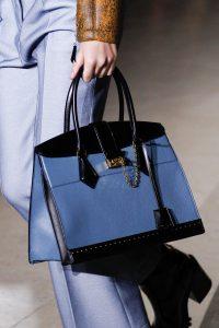Louis Vuitton Blue/Black Top Handle Bag - Fall 2017