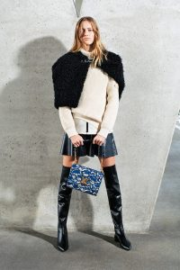 Louis Vuitton Blue/Gray Floral Twist Bag 3 - Pre-Fall 2017