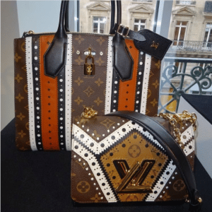 Louis Vuitton Monogram Canvas with Brogue Pattern City Steamer and Twist Bags - Fall 2017