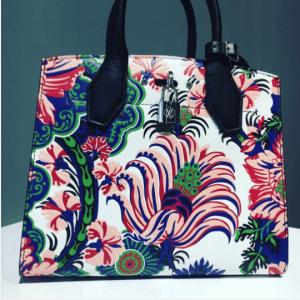 Louis Vuitton Multicolor Floral Print City Steamer Bag - Fall 2017
