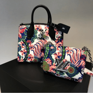 Louis Vuitton Multicolor Floral Print City Steamer and Twist Bags - Fall 2017