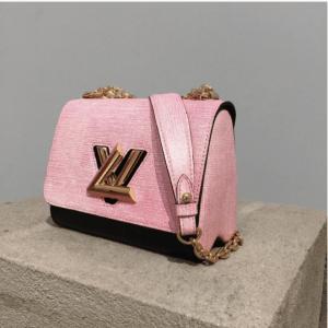Louis Vuitton Pink/Black Twist Bag - Pre-Fall 2017