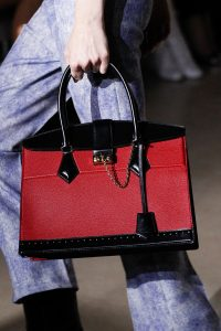 Louis Vuitton Red/Black Top Handle Bag - Fall 2017