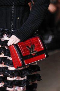 Louis Vuitton Red/Black Twist Bag 2 - Fall 2017