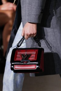 Louis Vuitton Red/Black Twist Bag - Fall 2017