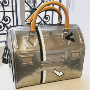 Louis Vuitton Silver Embossed Speedy Bag - Fall 2017