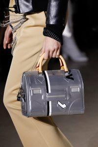 Louis Vuitton Silver Printed Speedy Bag - Fall 2017