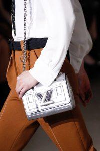 Louis Vuitton Silver Twist Bag - Fall 2017