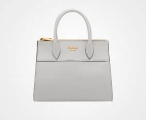 Prada Light Grey Paradigme Bag