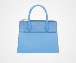 Prada Sea Blue Paradigme Bag