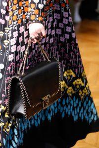Valentino Black Flap Bag - Fall 2017
