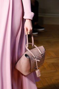 Valentino Pink Rockstud Top Handle Bag - Fall 2017