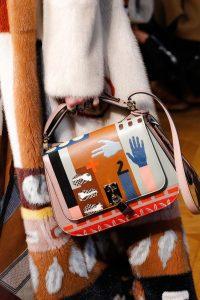 Valentino Pink/Multicolor Printed Saddle Bag - Fall 2017