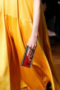 Valentino Red Printed Minaudiere Bag - Fall 2017