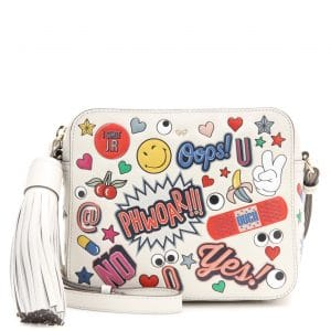 Anya Hindmarch All Over Stickers Camera Bag 1
