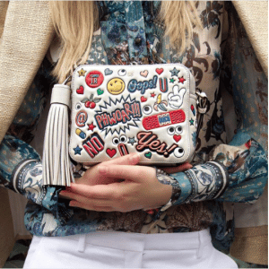 Anya Hindmarch All Over Stickers Camera Bag 2