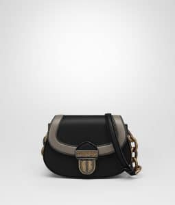 Bottega Veneta Black Umbria Bag
