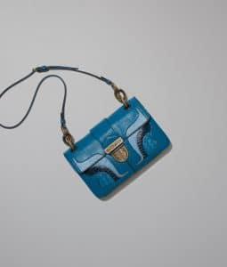 Bottega Veneta Brighton Karung Darling Bag