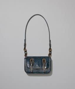 Bottega Veneta Brighton Lizard Doppia Bag
