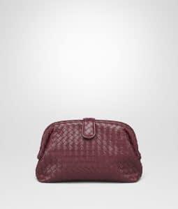 Bottega Veneta Gigolo Red Intrecciato The Lauren 1980 Clutch Bag