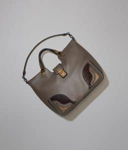 Bottega Veneta Steel Lucina Bag