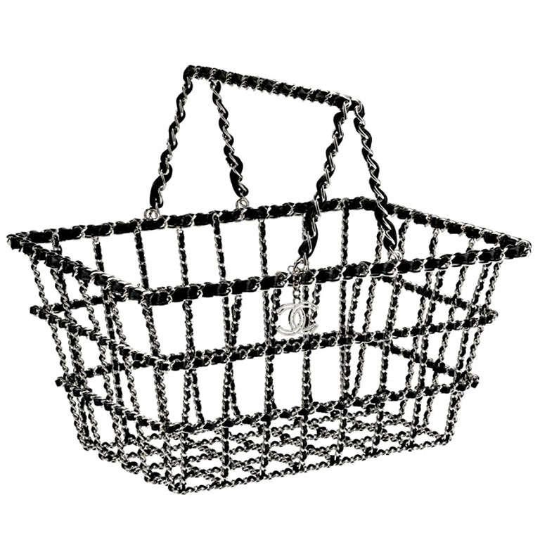 Chanel Grocery Basket Bag 1