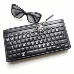 Chanel Keyboard Pouch Bag 2