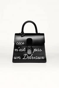 Delvaux Noir L'Humour de Brillant Bag