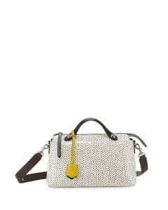 Fendi Black/White Snakeskin By The Way Bag