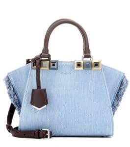 Fendi Denim 3Jours Mini Bag