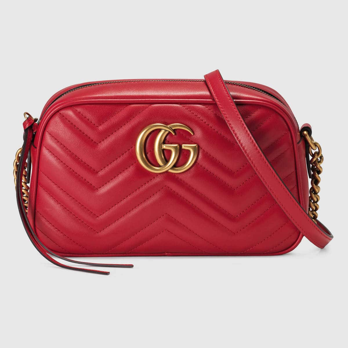 777d7fb93b20df Gucci GG Marmont Camera Bag Reference Guide | Spotted Fashion