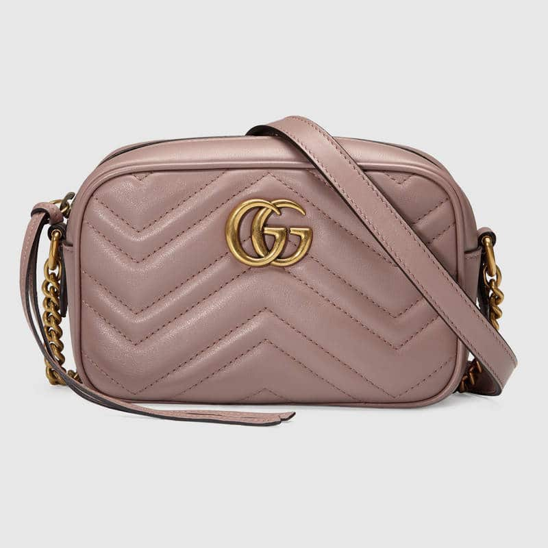 7d3703d73be6d Gucci GG Marmont Camera Bag Reference Guide