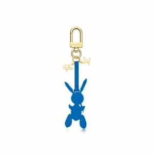 Louis Vuitton Blue Rabbit Bag Charm
