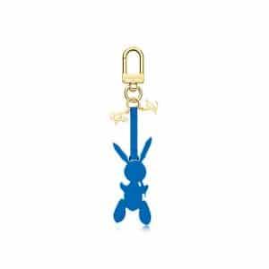 Louis Vuitton Blue Rabbit Bag Charm