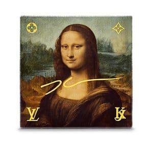Louis Vuitton Mona Lisa Monogram Shawl Light