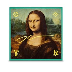 Louis Vuitton Mona Lisa Silk Square